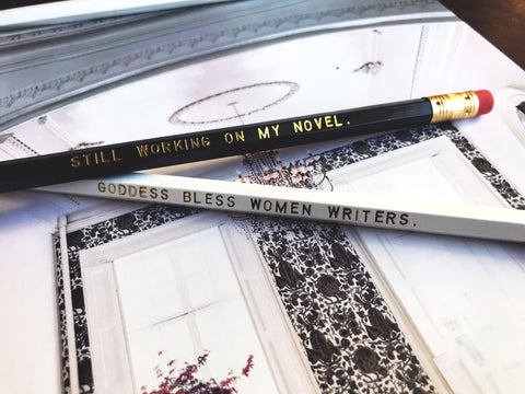 Still Working / Goddess Bless Pencil 2-Pack