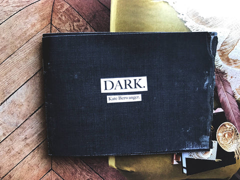 DARK. | Flash Fiction Mini Zine.