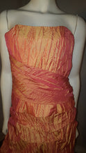 Orang Long dress,  zoom front view, sleeveless,  zipper