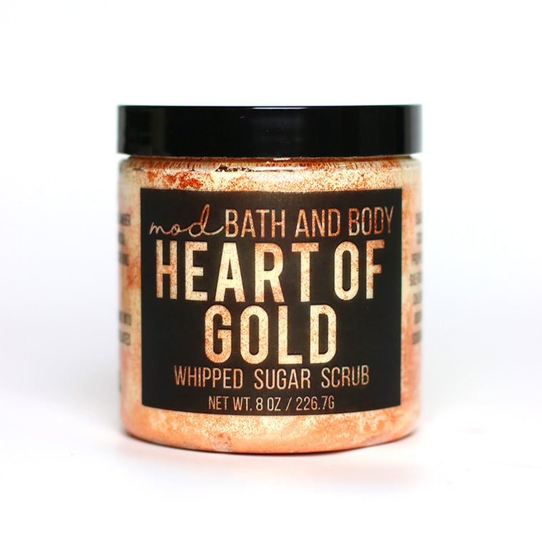 Heart of Gold Sugar Scrub