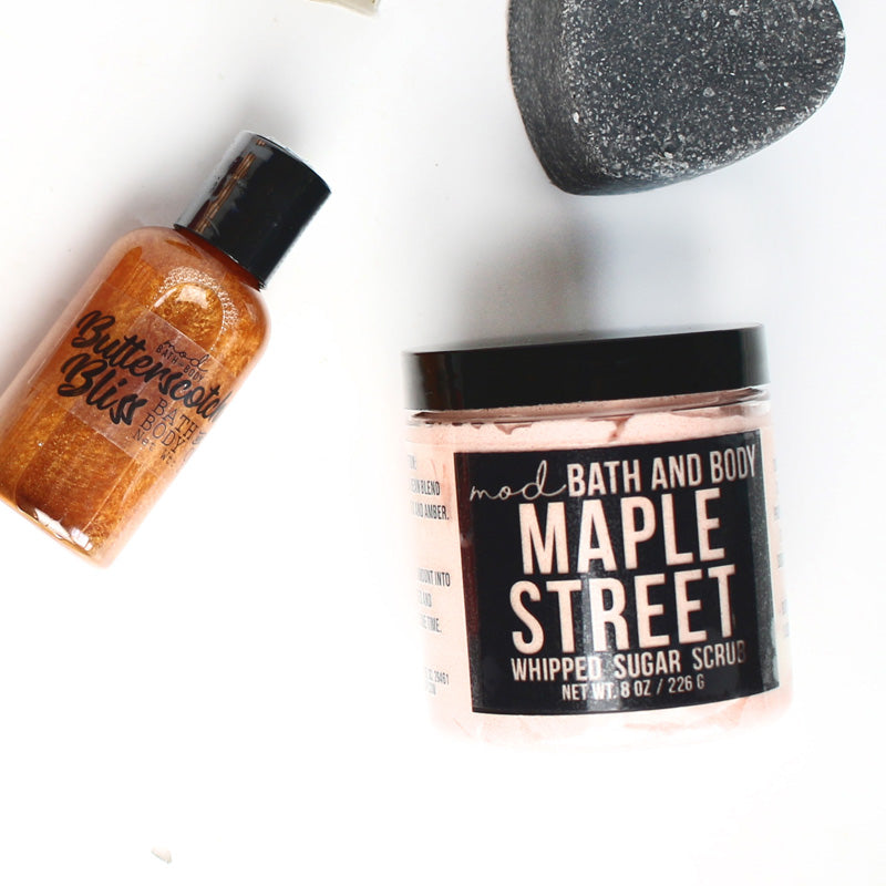 Maple Street Sugar Scrub