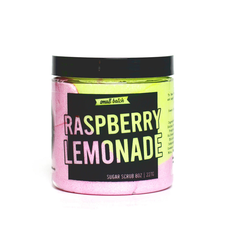 Raspberry Lemonade Sugar Scrub