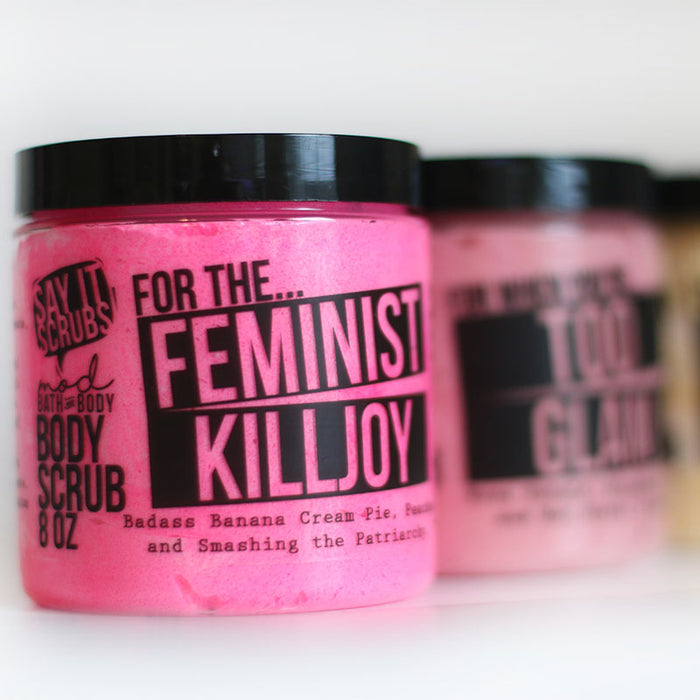 Feminist Killjoy Body Scrub