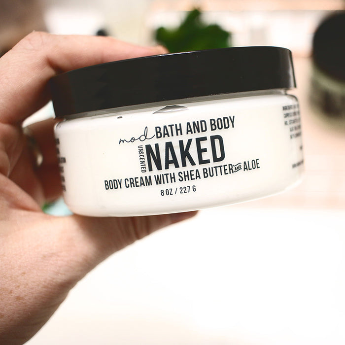 Naked Body & Face Cream (Unscented)