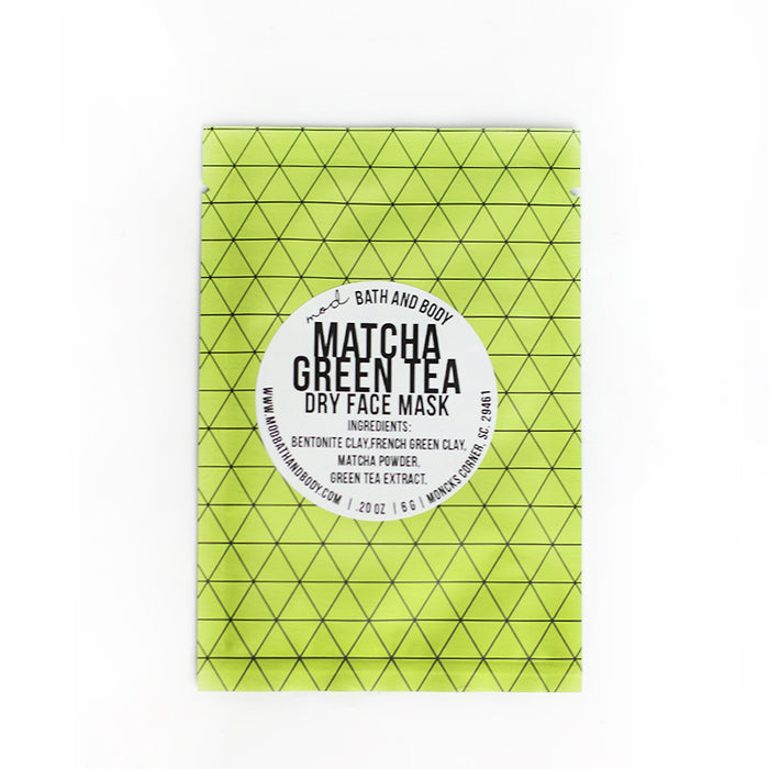 Matcha Green Tea Dry Mask