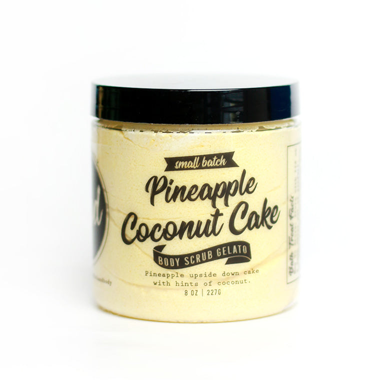 Pineapple Coconut Cake Sugar Scrub