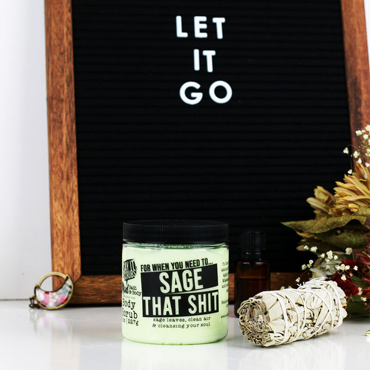 Sage That Shit Body Scrub