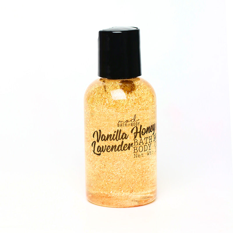 Vanilla Honey Lavender Bath & Body Oil