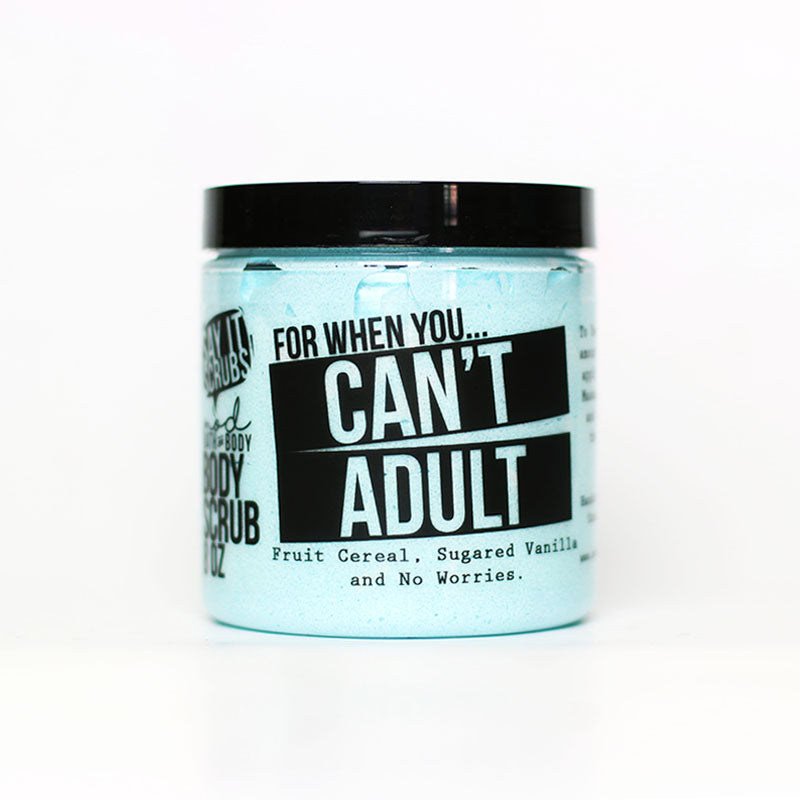 Can't Adult Body Scrub