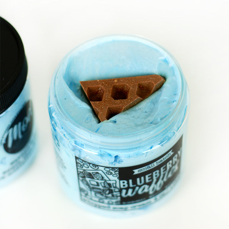 Blueberry Waffles Whipped Soap