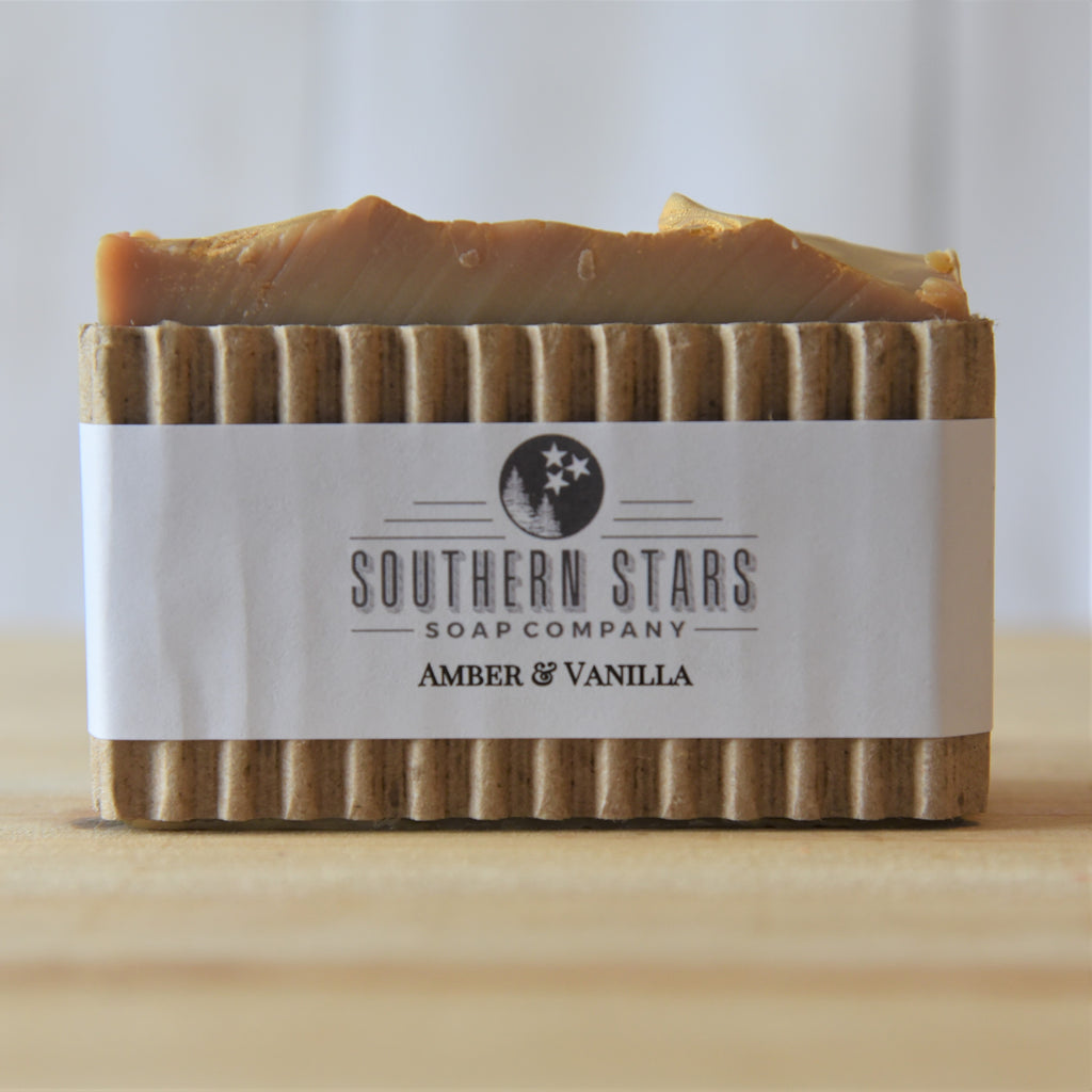 Amber & Vanilla | Natural Soap