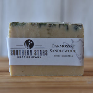 Oakmoss & Sandlewood | Goats Milk Soap
