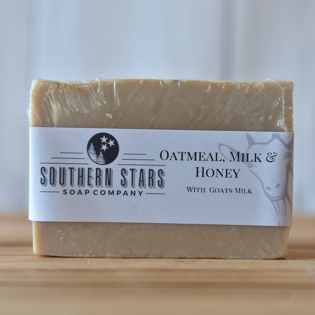 Oatmeal Milk & Honey | Goats Milk Soap
