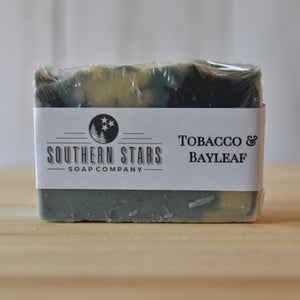 Tobacco & Bayleaf | All Natural Soap |