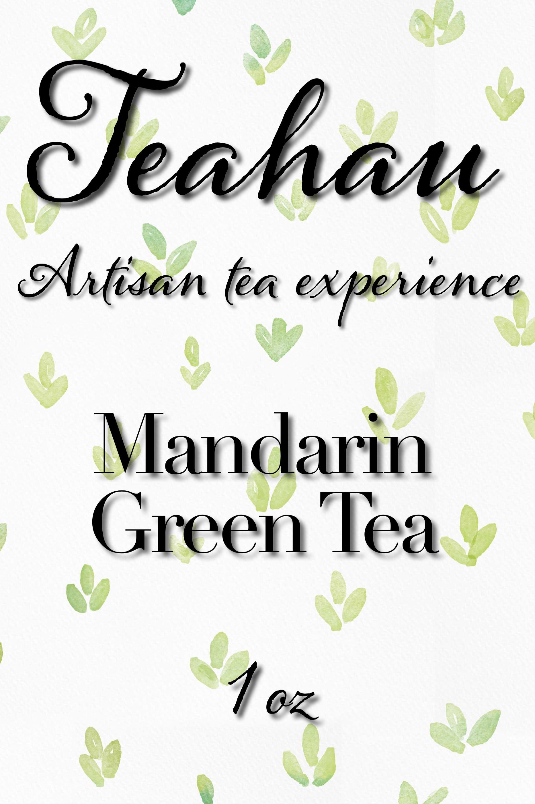 Mandarin Green Tea 1 oz
