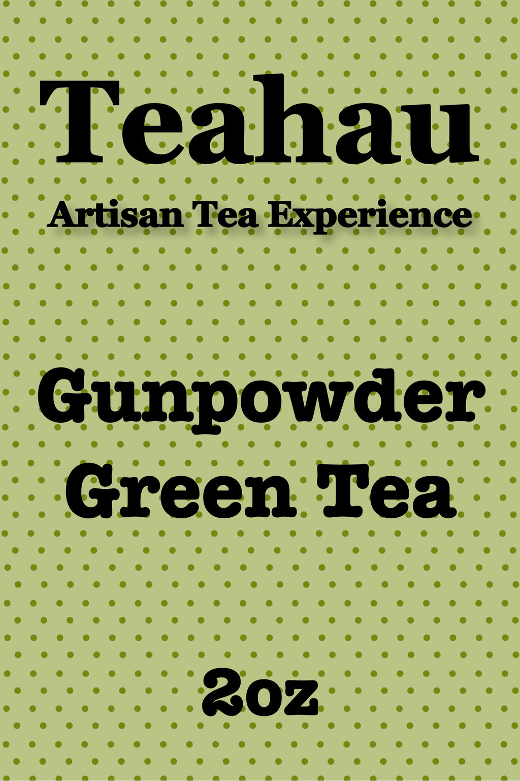 GunPowder  Green Tea 2oz