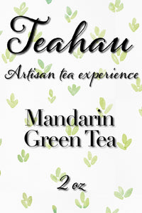 Mandarin Green Tea 2 oz