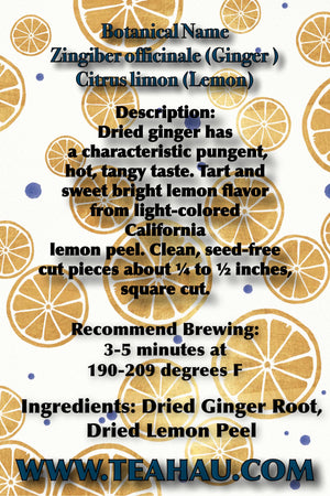 Ginger Lemon Tea 1 oz