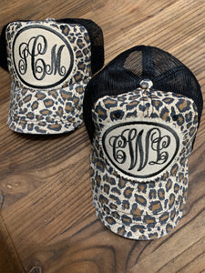 Monogrammed Hats by Darlins
