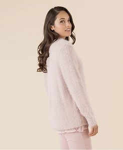 FAUX FUR KNIT