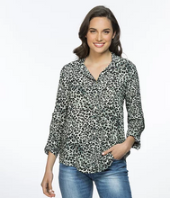 THREADZ ANIMAL PRINT SHIRT