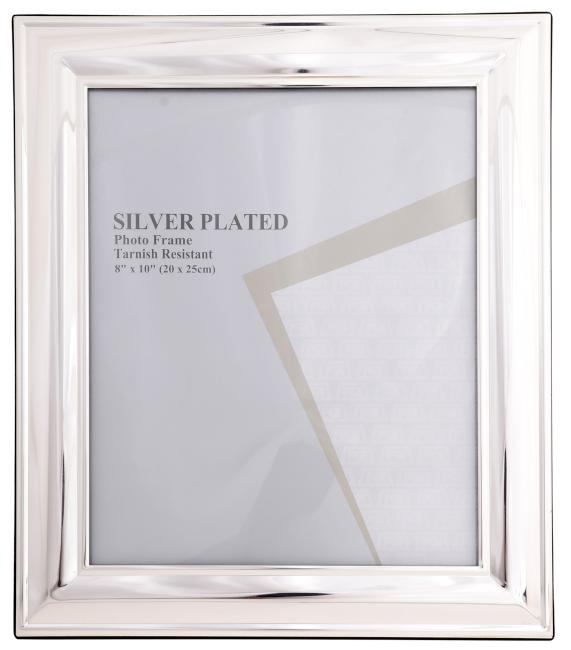 VICTORIAN SILVER FRAME 8X10