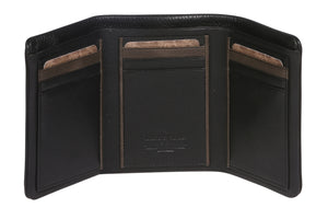 MENS COW MILANO LEATHER RFID WALLET