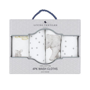 4PK BABY WASH CLOTHS