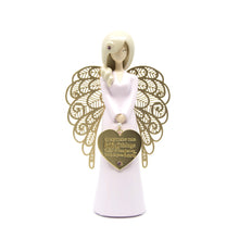 Baby girl angel figurine