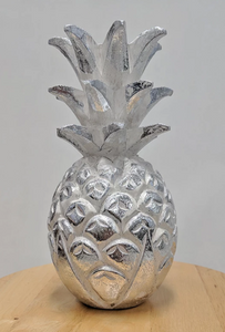 MEDIUM WOOD PINEAPPLE