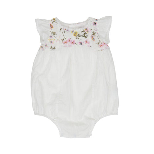 FLORAL WONDER DELICATE PLAYSUIT