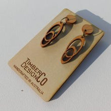 ASSORTED TIMBER DROP EARRINGS