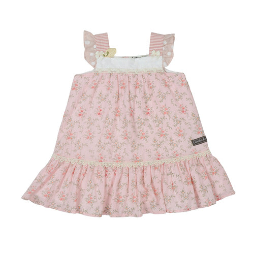 PRETTY IN PINK BABYDOLL DRESS