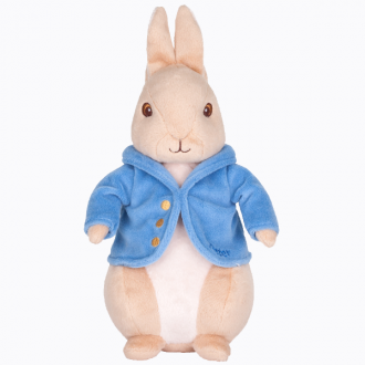 PETER RABBIT PLUSH SILKY BEANBAG