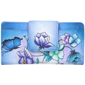 PARADISE HANDPAINTED LEATHER WALLET