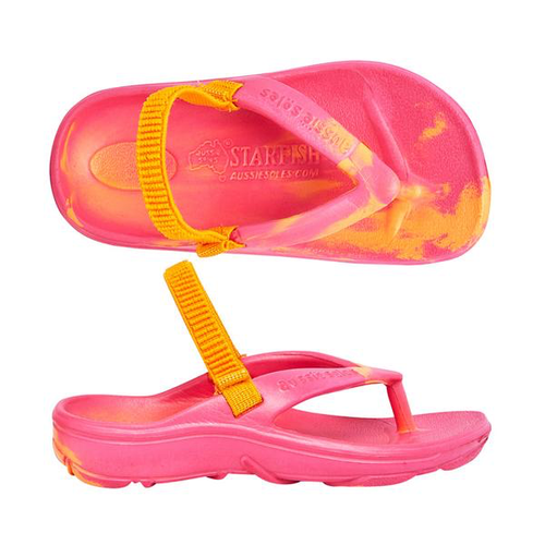 STARFISH ORTHOTIC JUNIOR ORANGE PINK