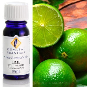 LIME COLD PRESSED PURE ESSENTIAL OIL