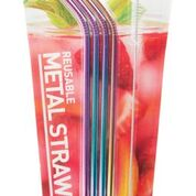 METAL DRINKING STRAW