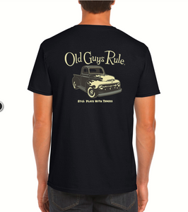 OLD GULYS RULE TEE - STILL PLAYS WITH TRUCKS
