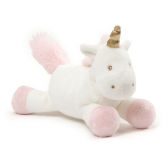 LUNA UNICORN PLUSH WITH RATTLE 18CM