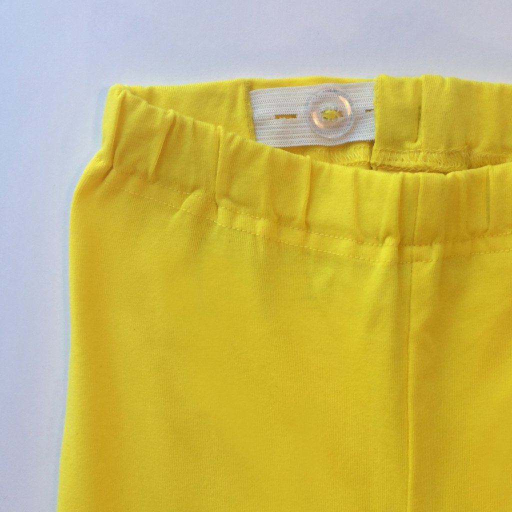 NOT SO MELLOW YELLOW BIKE SHORTS