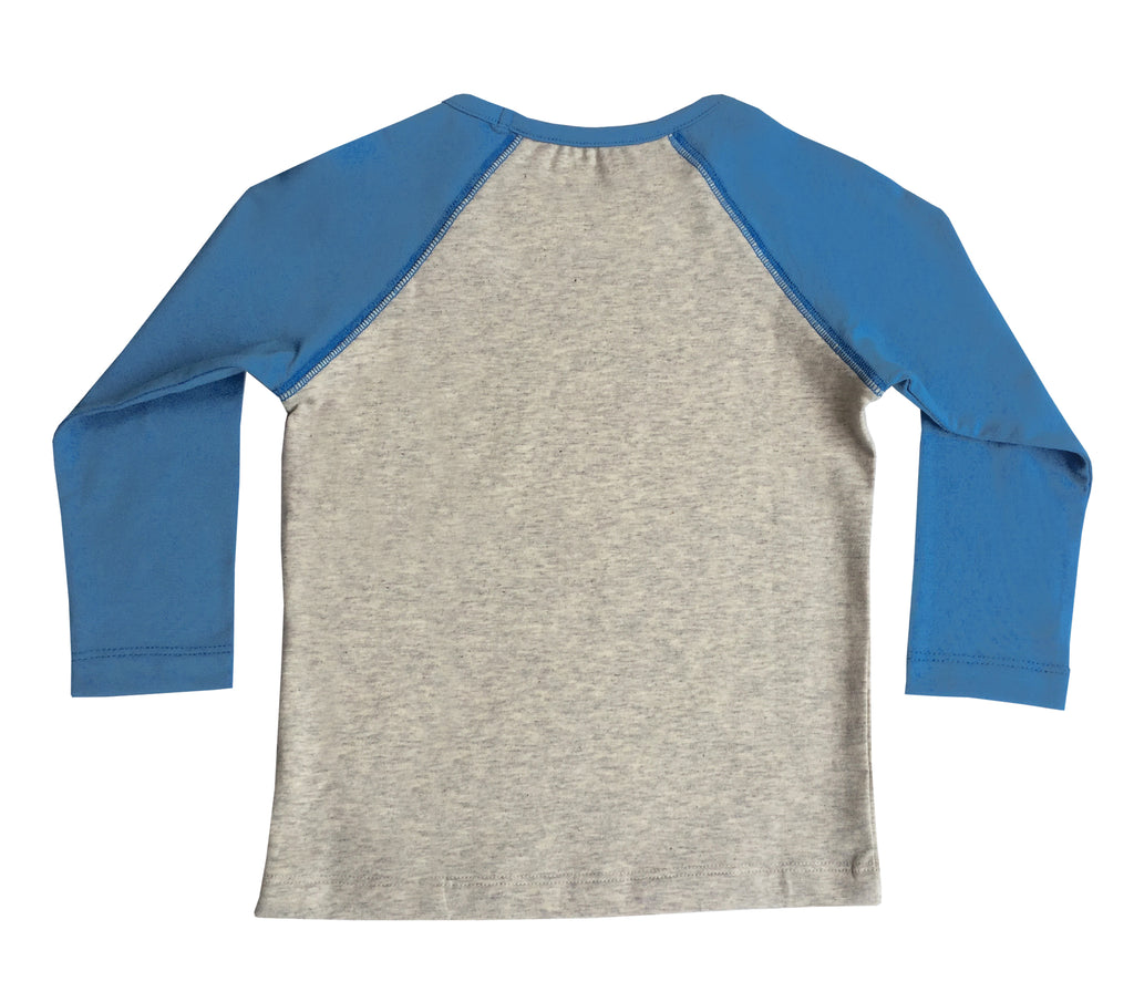 MAXY MOUSE LONG SLEEVE TEE FOR GIRLS+BOYS