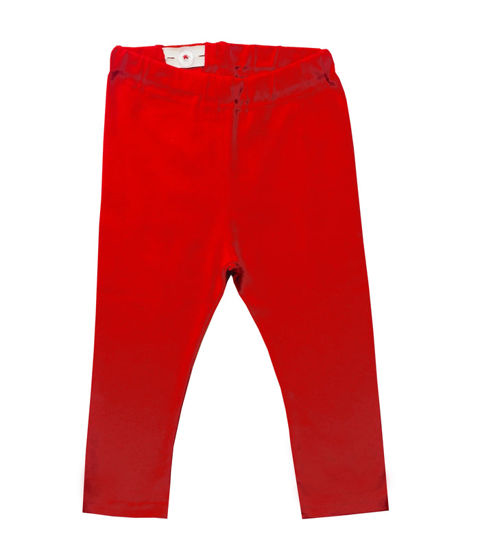 LOVE HEART RED LEGGING