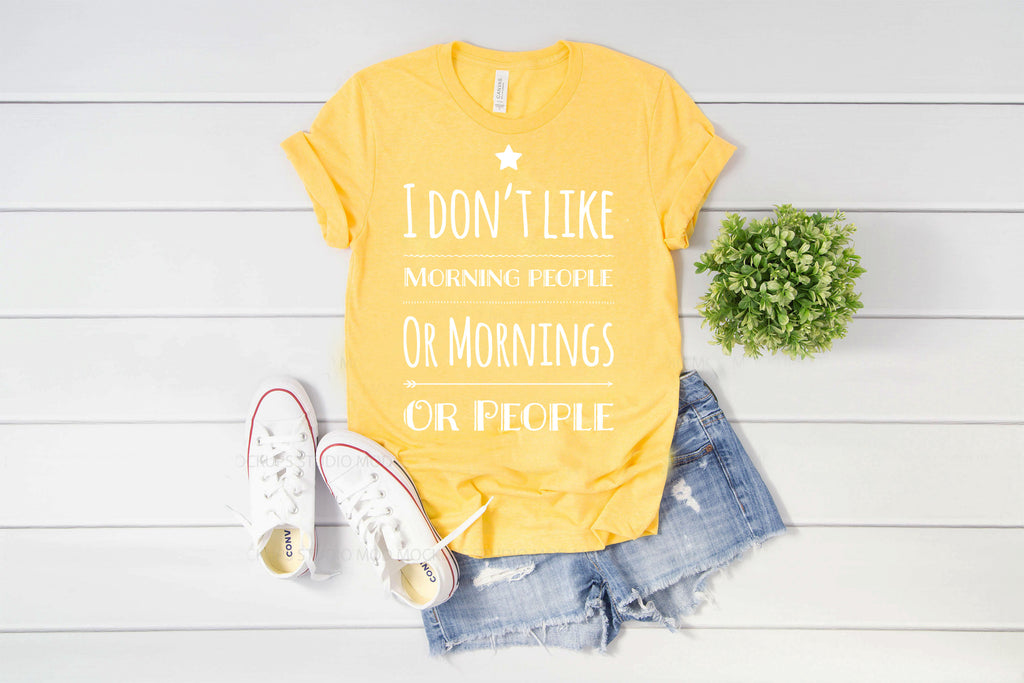 I Don't Like Morning People, Or Mornings, Or People