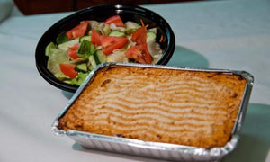 Sebastian's - Turkey Sweet Potato Shepherd's Pie Dinner (GF) = Serves 2 to 3