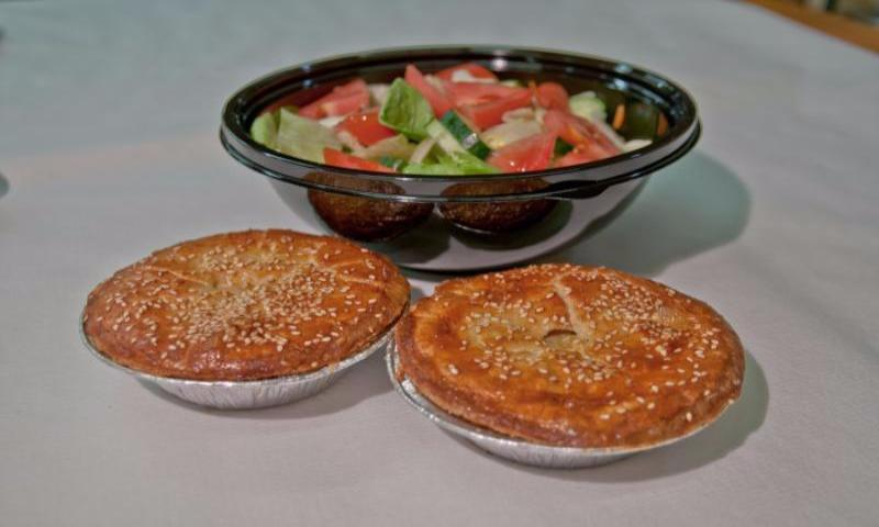 Sebastian's - Chicken Pot Pie Dinner = From 2 to 5 Serving Sizes