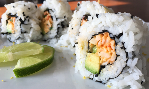 Tanakaya - Spicy Crab Roll Dinner = From 2 to 4 Serving Sizes