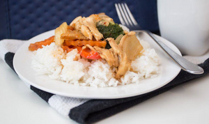 Thaifoon - Cashew Chicken & Rice (Vegetarian Option) = From 2 to 8 Serving Sizes