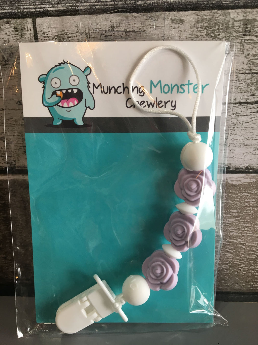 Munching Monster Chewlery - Soother Clips