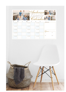 Full-Colour Photo Calendar (Dry Erase)